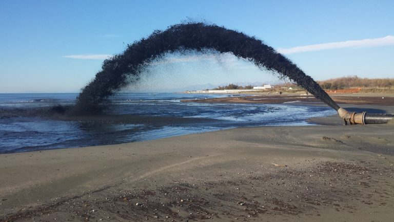 Clearing Sediment With a Dredge